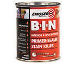 Zinsser B-I-N Primer White - 1Ltr