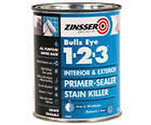 Zinsser Bulls Eye 123 Primer White - 1Ltr