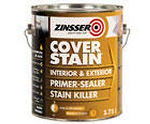 Zinsser Cover Stain Primer White -1Ltr