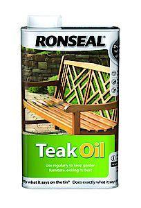 Teak Oil Clear Aerosol 500Ml