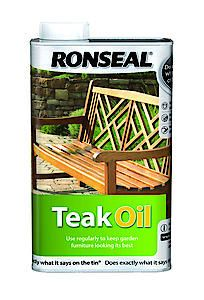 Teak Oil Clear 1L