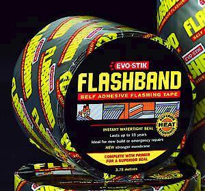 Flashband & Primer 3.75M X 75Mm