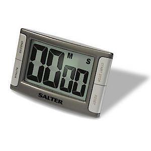 Electronic Kitc.Timer Silv/Grey