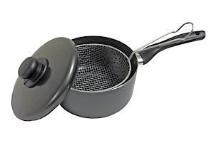 20Cm Chip Pan & Lid  Po37