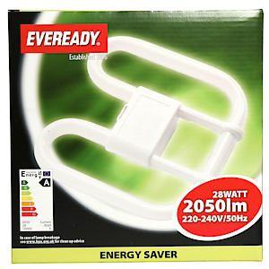 28W 4 Pin Energy Saver 2D Lamp*