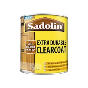 Sadolin Clear Coat Satin     Clear      1L