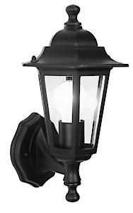 Wall Mount Lantern Black 5895*