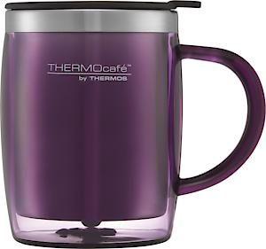Translucent Desk Mug Purple 450Ml