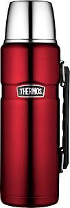 Stainless King Flask Red 1.2L With Handle