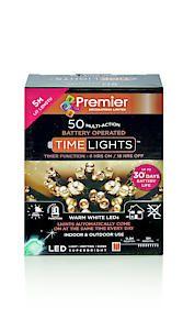 50 B-O Warm White Led Lights