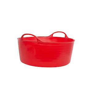 Flks Shallow Tubtrug Red Sp15r