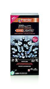 200 Multi Action B-O White Led Lights