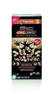 200 Multi Action B-O Warm White Led Lights