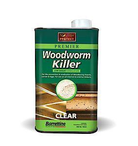 Barrettine Woodworm Killer 1Lt