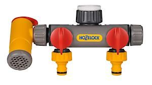Hozelock Flowmax 3-Way Tap Connector