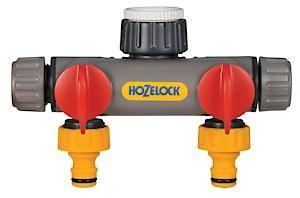 Hozelock 2-Way Tap Connector