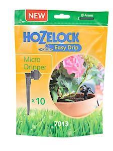 Hozelock Micro Univ. Dripper 10Pk 7013