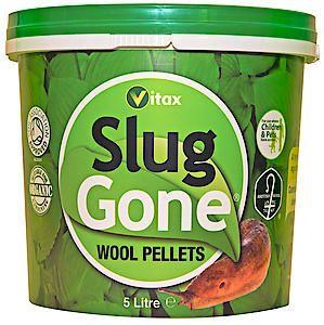 Slug Gone Wool Pellets 5Ltr
