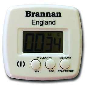 Plain Boxed Kitchen Digital Timer Count Up And Down 99 Mins 59 Sec