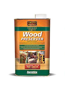 Barrettine Wood Protect Red Cedar 1L