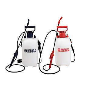 5Lt Pump Action Pressure Sprayer - Twin Pack