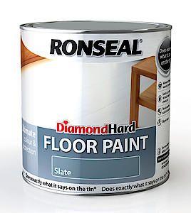 Ronseal D.Hard Floor Paint Black 750Ml