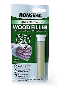 Ronseal Hp Wood Filler Putty Nat 26Gm