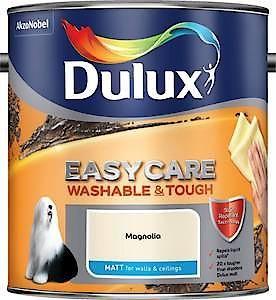 Dulux Easycare Matt Cornfl White 2.5L