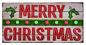Lb176756 40X20cm Merry Xmas Sign