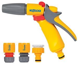 Hozelock Jet Spray Gun+ Fittings 2348