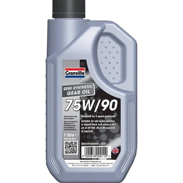 Ep 75W90 Gear Oil 1 Litre