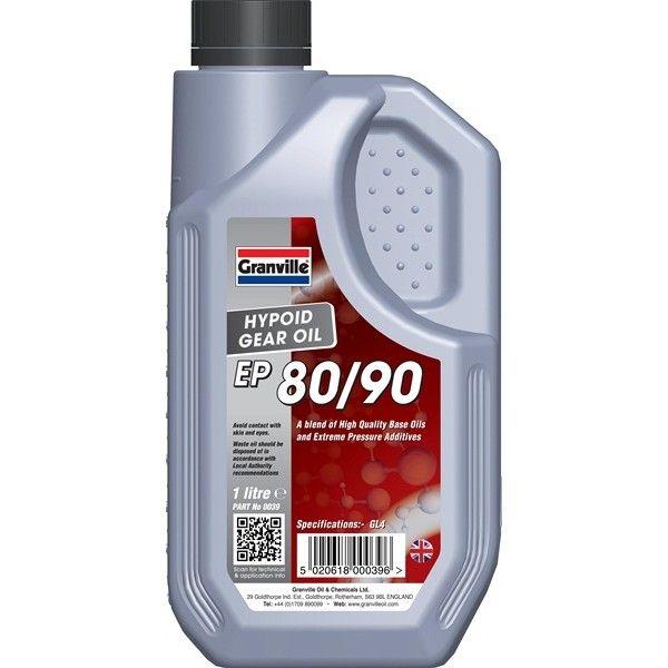 Ep 8090 Hypoid Gear Oil 1 Litre