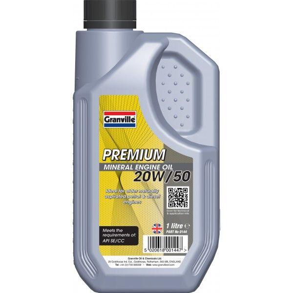 Premium 20W50 1 Litre