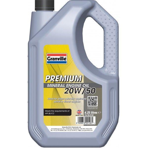 Premium 20W50 4.25 Litre