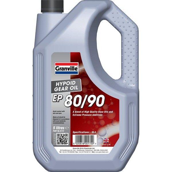 Ep 8090 Hypoid Gear Oil 5 Litre