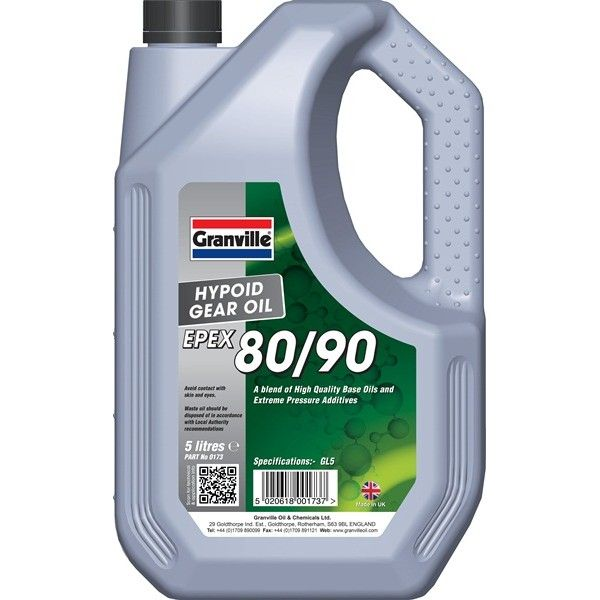 Epex 8090 Hypoid Gear Oil 5 Litre