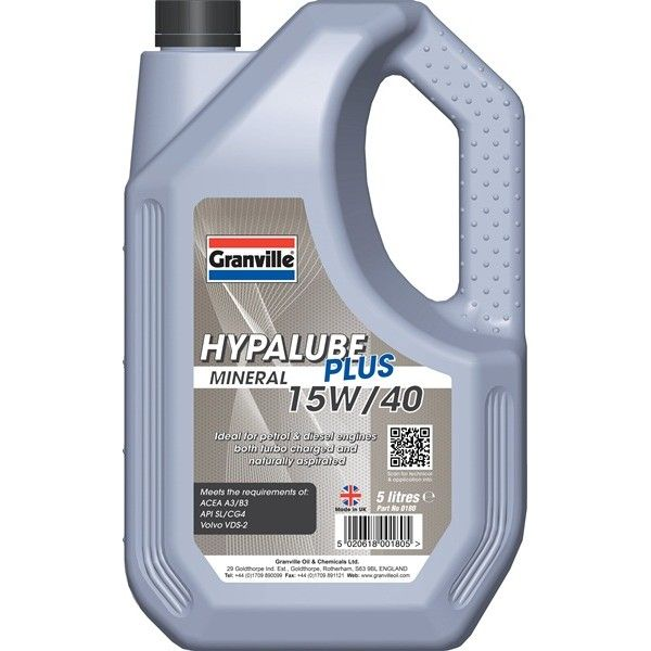 Hypalube Plus 15W40 5 Litre