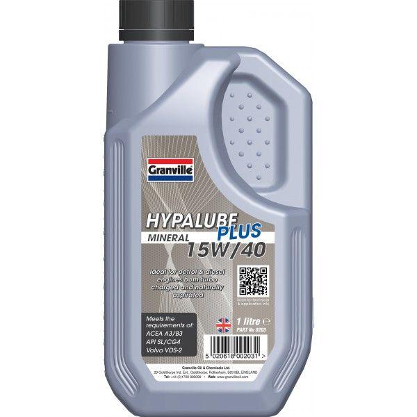 Hypalube Plus Mineral Oil 15W40 1 Litre