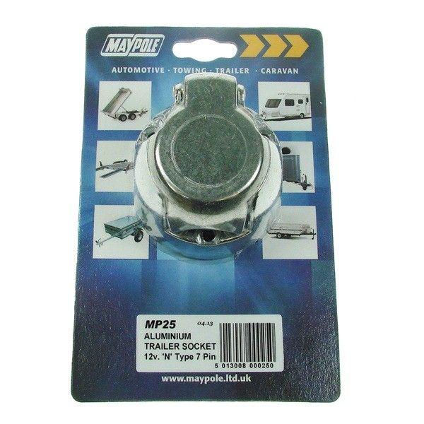 Socket Aluminium 12N 7Pin