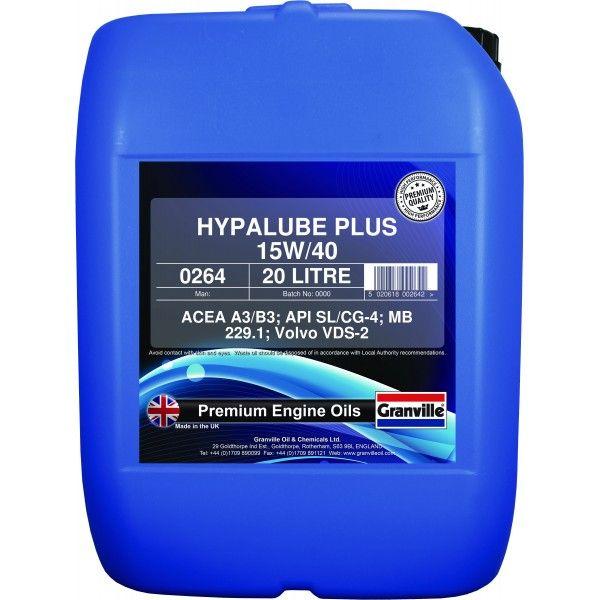 Hypalube Plus Mineral Oil 15W40 20 Litre