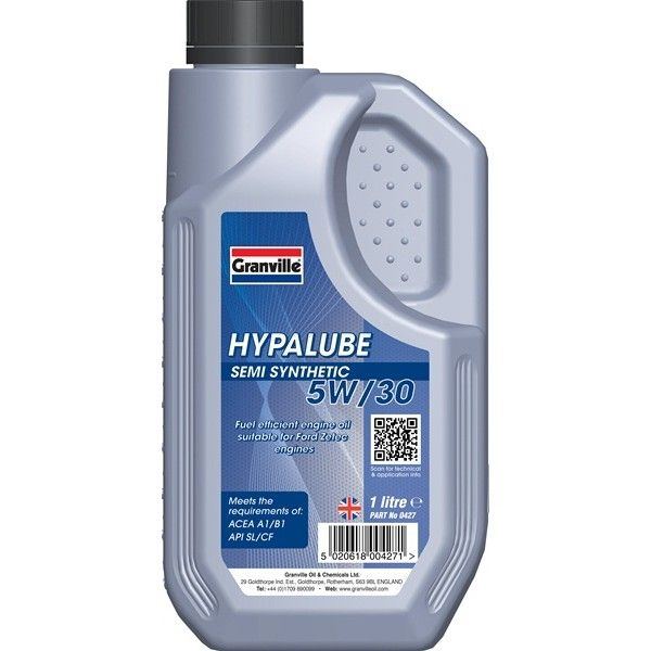 Hypalube 5W30 Semi Synthetic 1 Litre