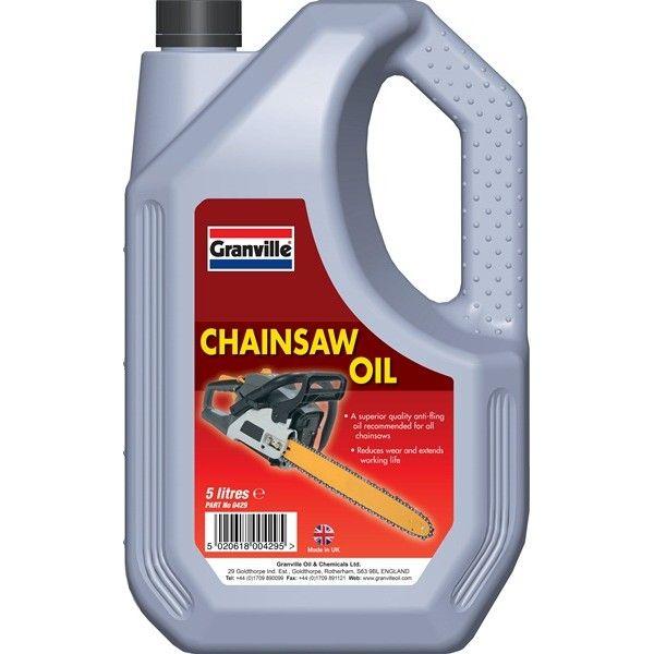 Chainsaw Oil 5 Litre