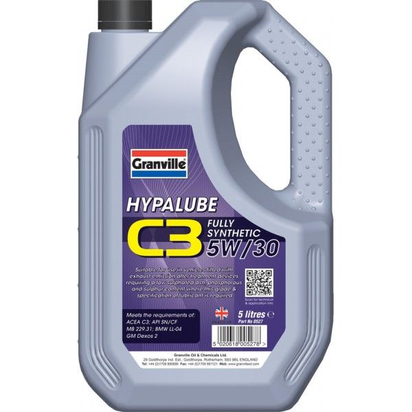 Hypalube C3 5W30 5 Litre