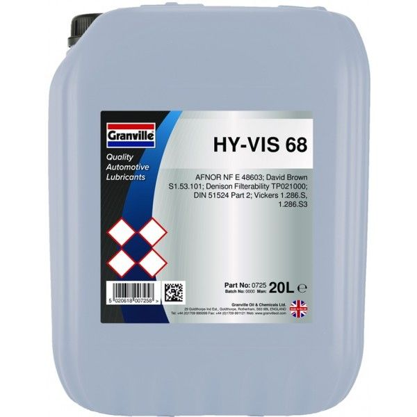 Hyvis Hydraulic Oil 68 20 Litre