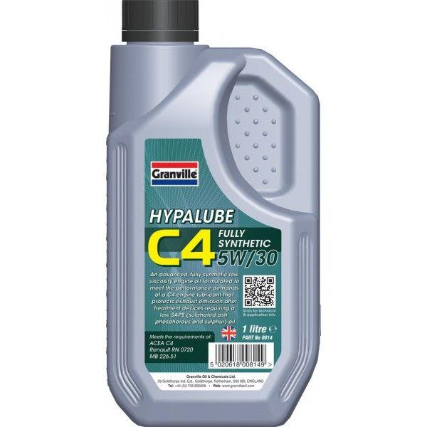 Hypalube C4 5W30 1 Litre