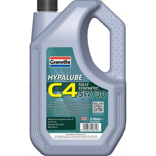 Hypalube C4 5W30 5 Litre