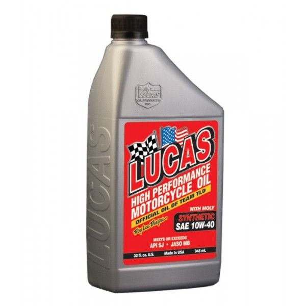 Sae 10W40 Fully Synthetic Motorcycle Oil With Moly 946Ml