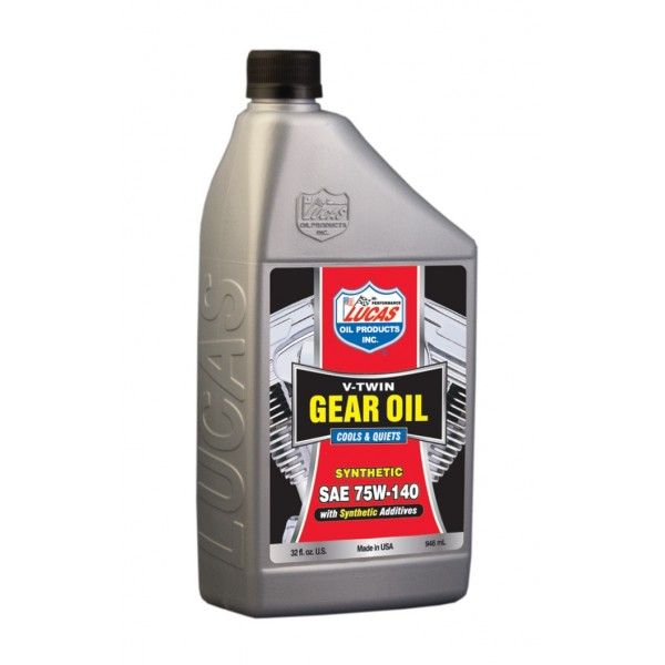 Sae Fully Synthetic 75W140 Vtwin Gear Oil 946Ml