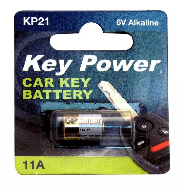 Coin Cell Battery 11A Alkaline 6V
