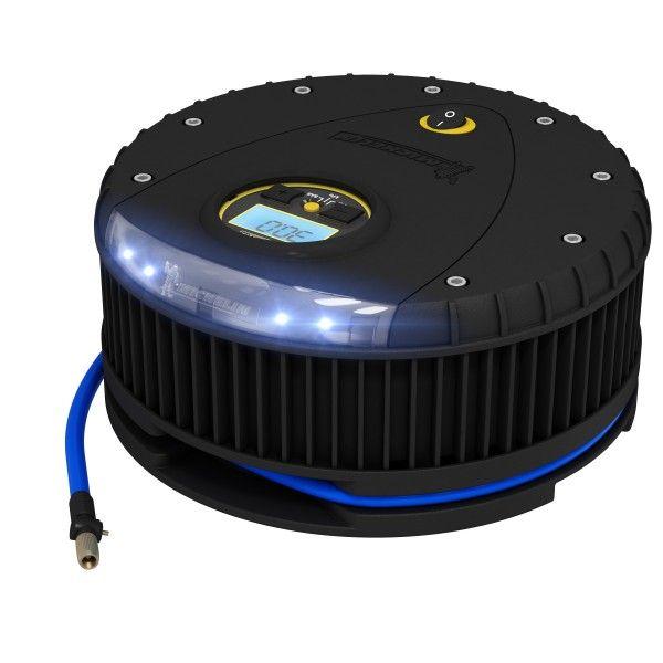 Tyre Inflator 12V Rapid Digital Gauge